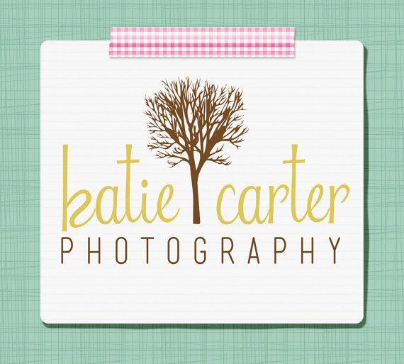 Premade Logo Design - Photography Logo / Business Logo - Custom Premade Logo - Tree Design by SimplyBrenna, $10.00