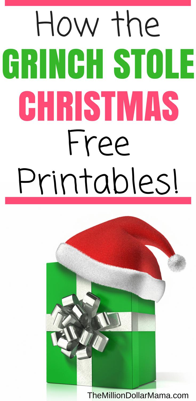 How The Grinch Stole Christmas Printables Grinch Christmas Party Grinch Christmas Decorations Whoville Christmas