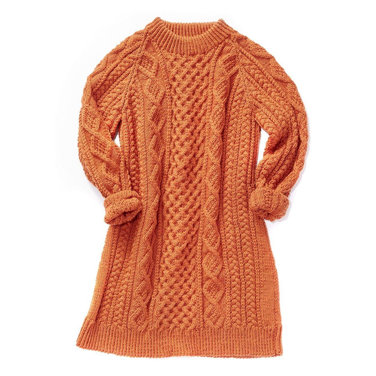 Patons Honeycomb Aran Dress 2xl 3xl Knitting Patterns