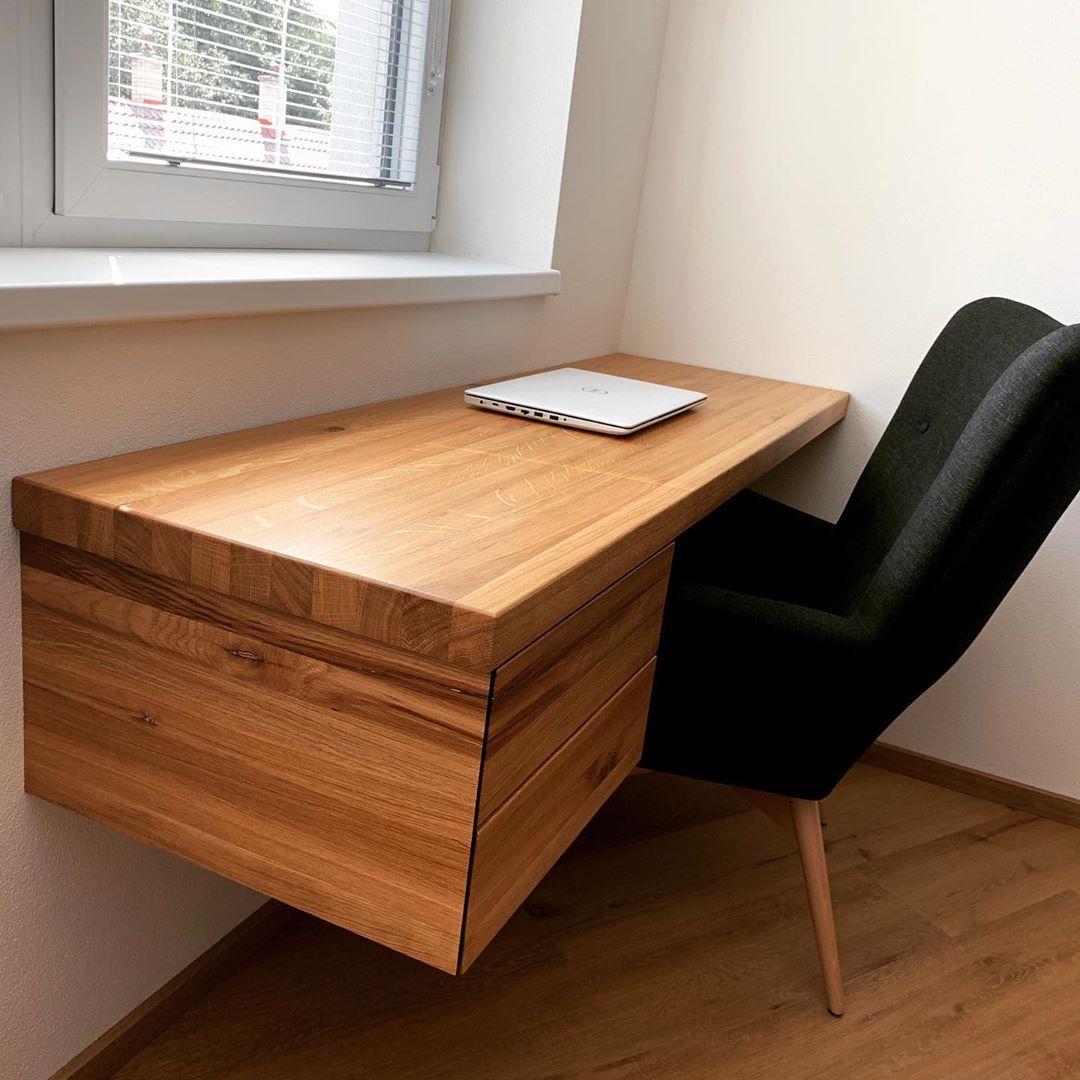 Pracovni Stul Z Masivu Desk Office Stul Furniture Nabytek
