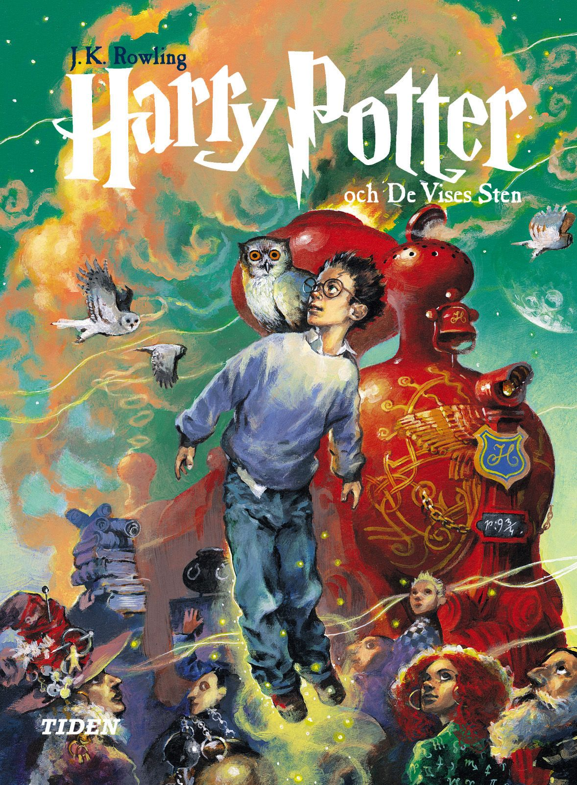 Alvaro Tapia Swedish Harry Potter Covers Harry Potter