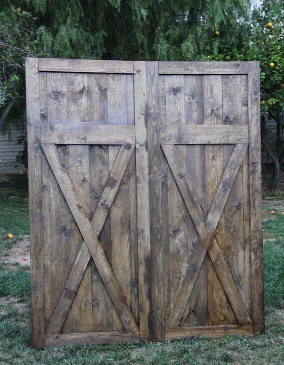 Headboard Vintage Barn Door Replica By Foo Foo La La