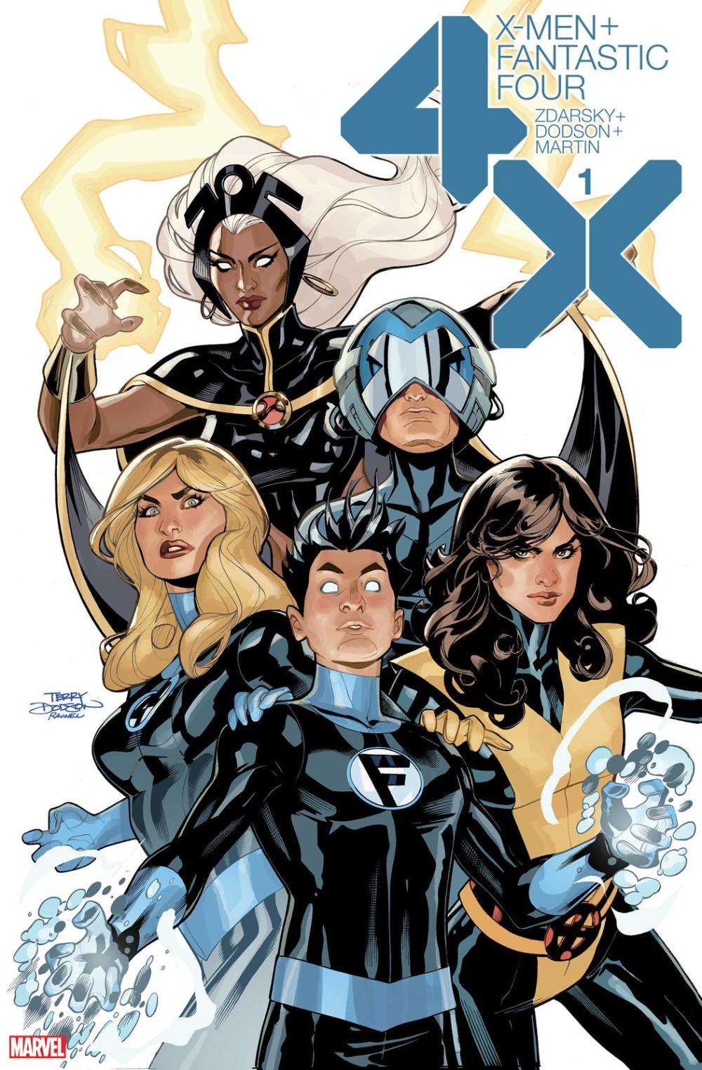 Coming In February X Men Fantastic Four Asks Where Franklin Richards Belongs Fantastic Four X Men Comics