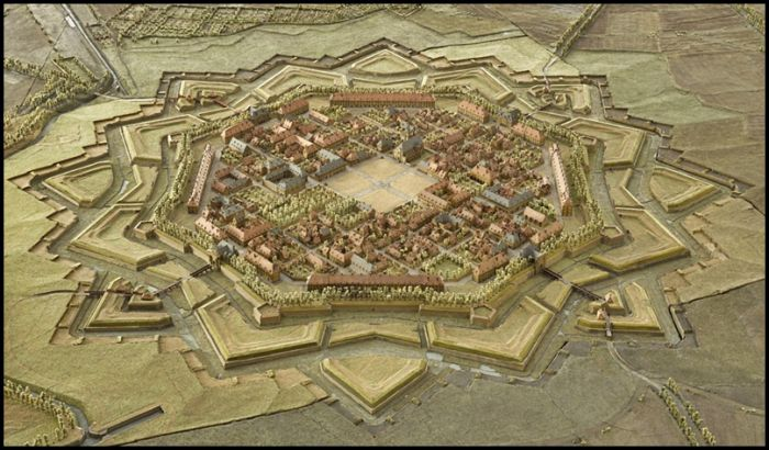 star fort | Plan in 2019 | Star fort, City layout, Ancient ...