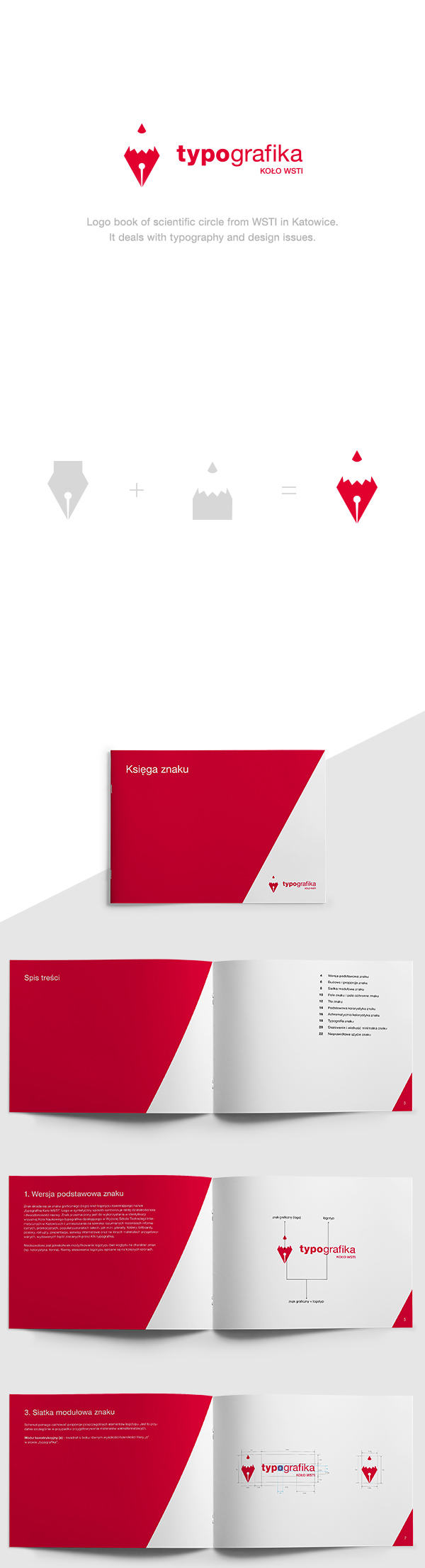 typografika - logo book by Łukasz Ociepka, via Behance