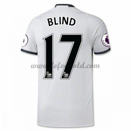 Billige Fodboldtrøjer Manchester United 2016-17 Blind 17 Kortærmet Tredjetrøje