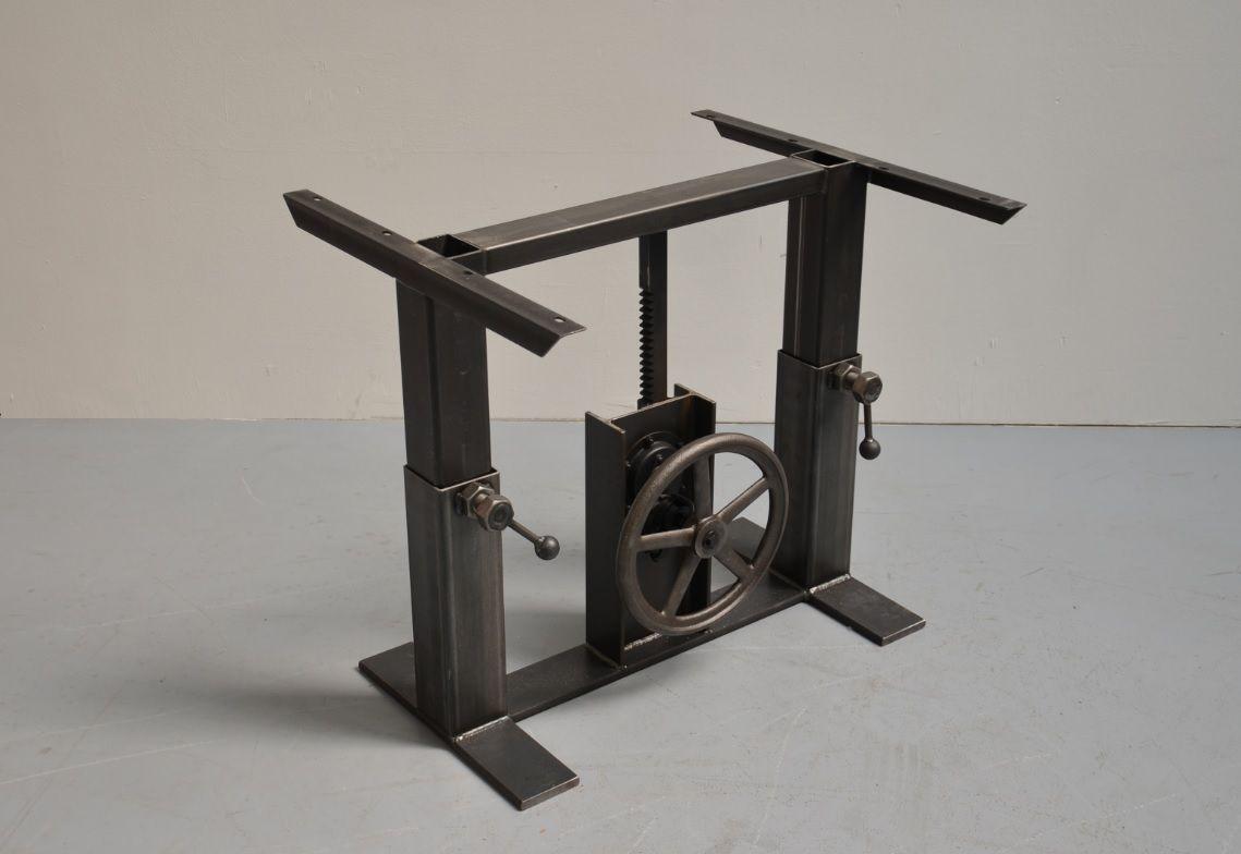 comper couchtisch gestell h henverstellbar tisch pinterest couchtische m bel bauen und tisch. Black Bedroom Furniture Sets. Home Design Ideas