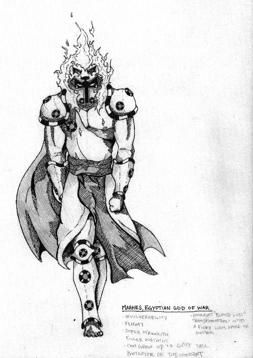 Maahes, egyptian god of war