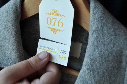 coat check template