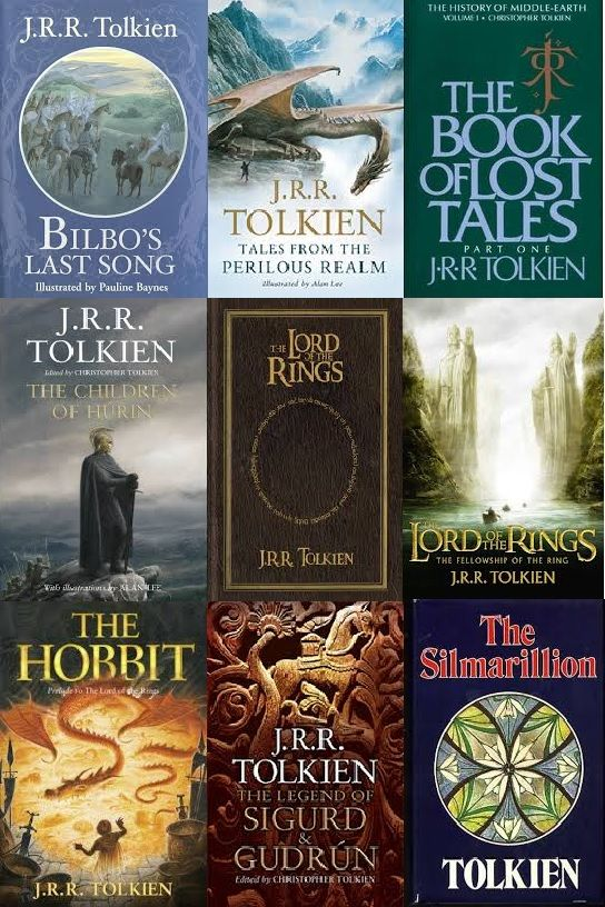 J.R.R. Tolkien eBooks Collection (English)