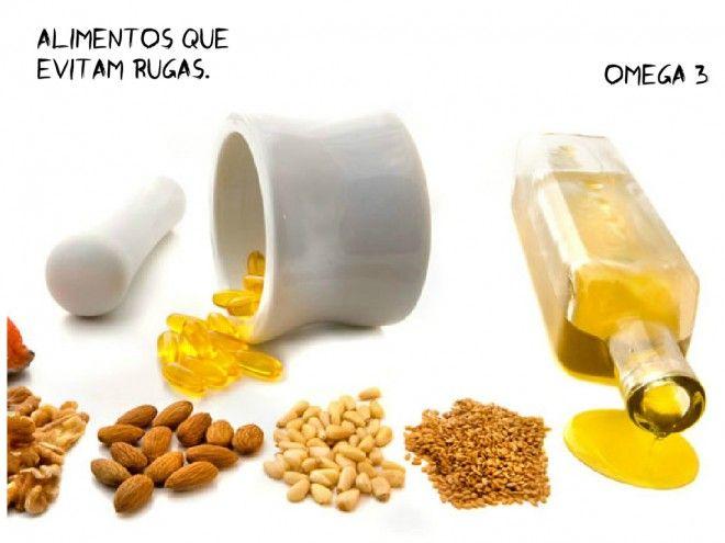 alimentos que evitam rugas omega 3