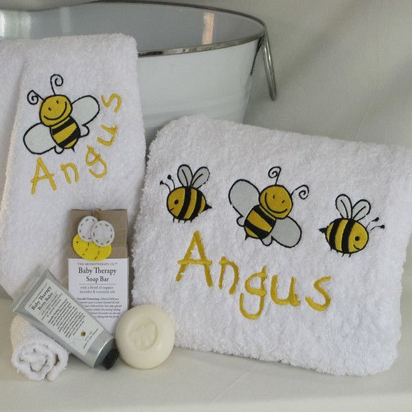 Personalised baby hamper towel designs pinterest baby hamper personalised baby hamper negle Gallery
