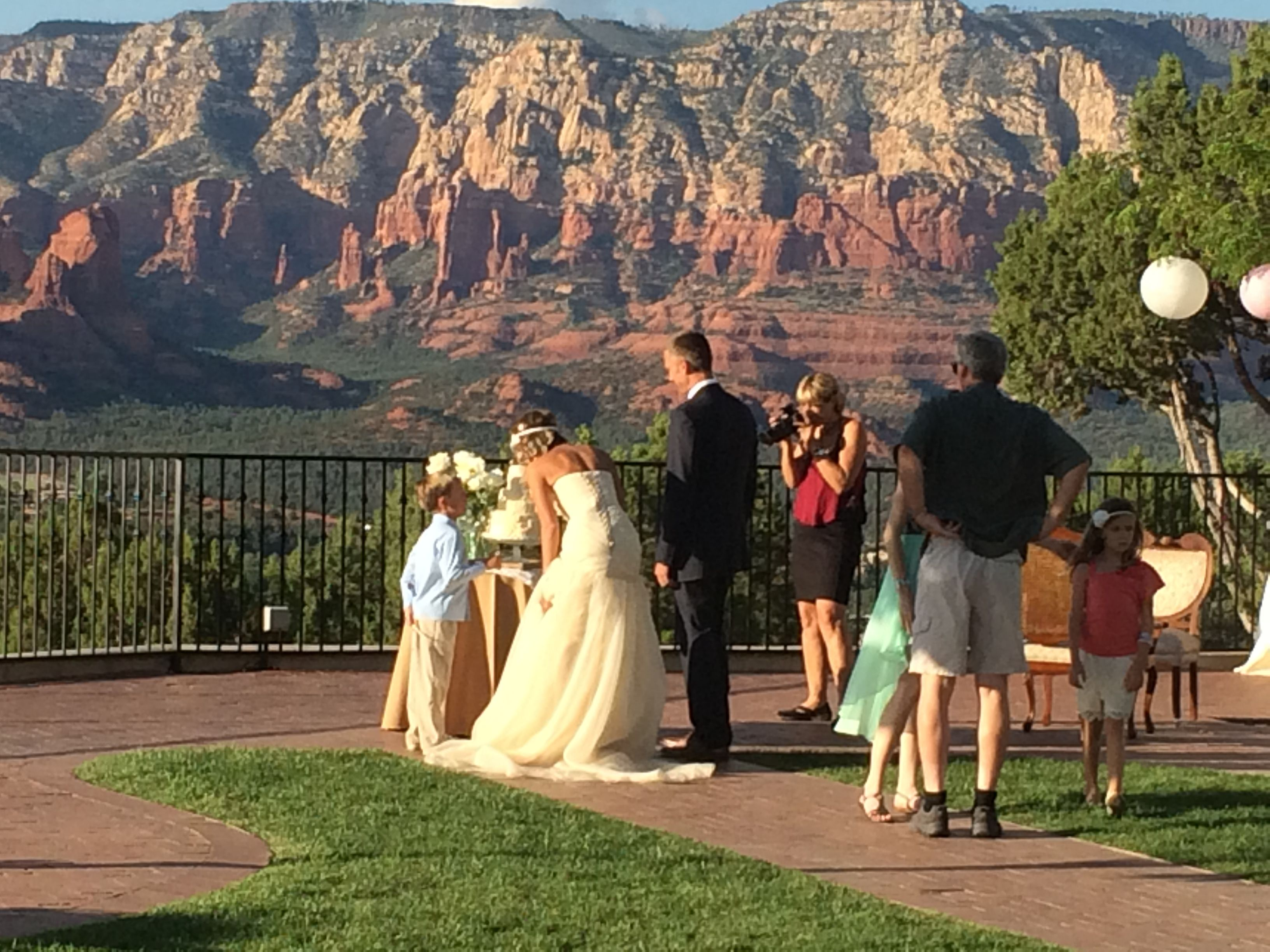 In memory of family wedding sign we know you by signstoliveby - This Is At The Sky Ranch Lodge In Sedona Az An Unbelievable View Of