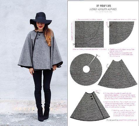 Pleins d idées couture facile pour la saison Automne- hiver, coudre une  jolie d2ccb3e7c55