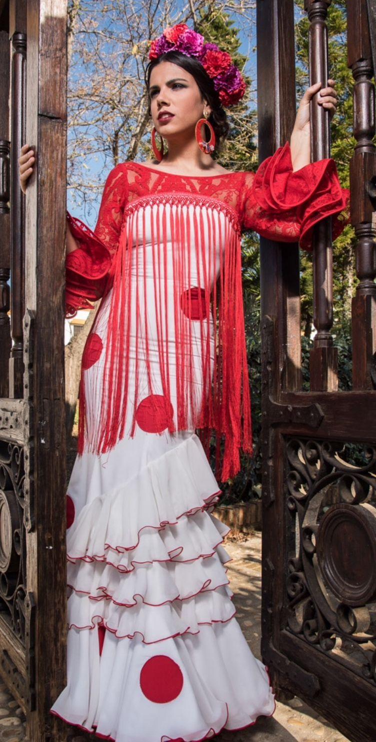 Pin de Sina Gallego en Flamenca | Pinterest | Flamenco, Trajes de ...