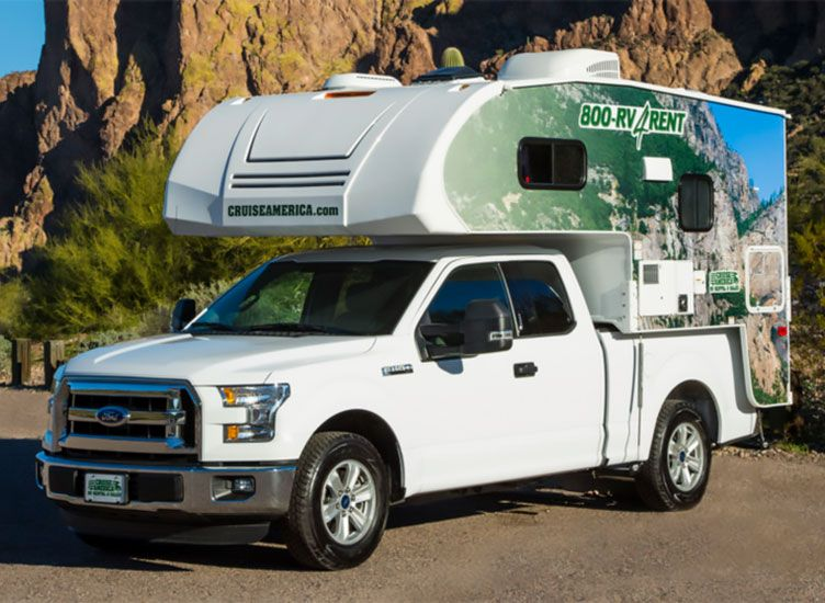 Lance Announces Rental Partnership With Cruise America Cruise America Slide In Truck Campers Truck Camper