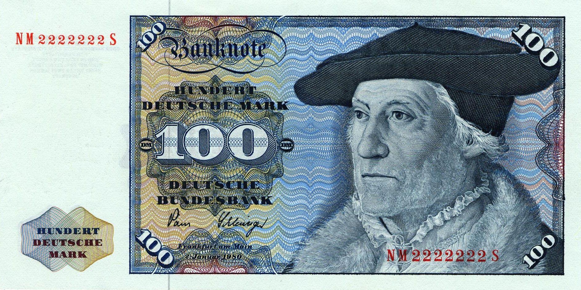 Deutsche Mark 紙幣