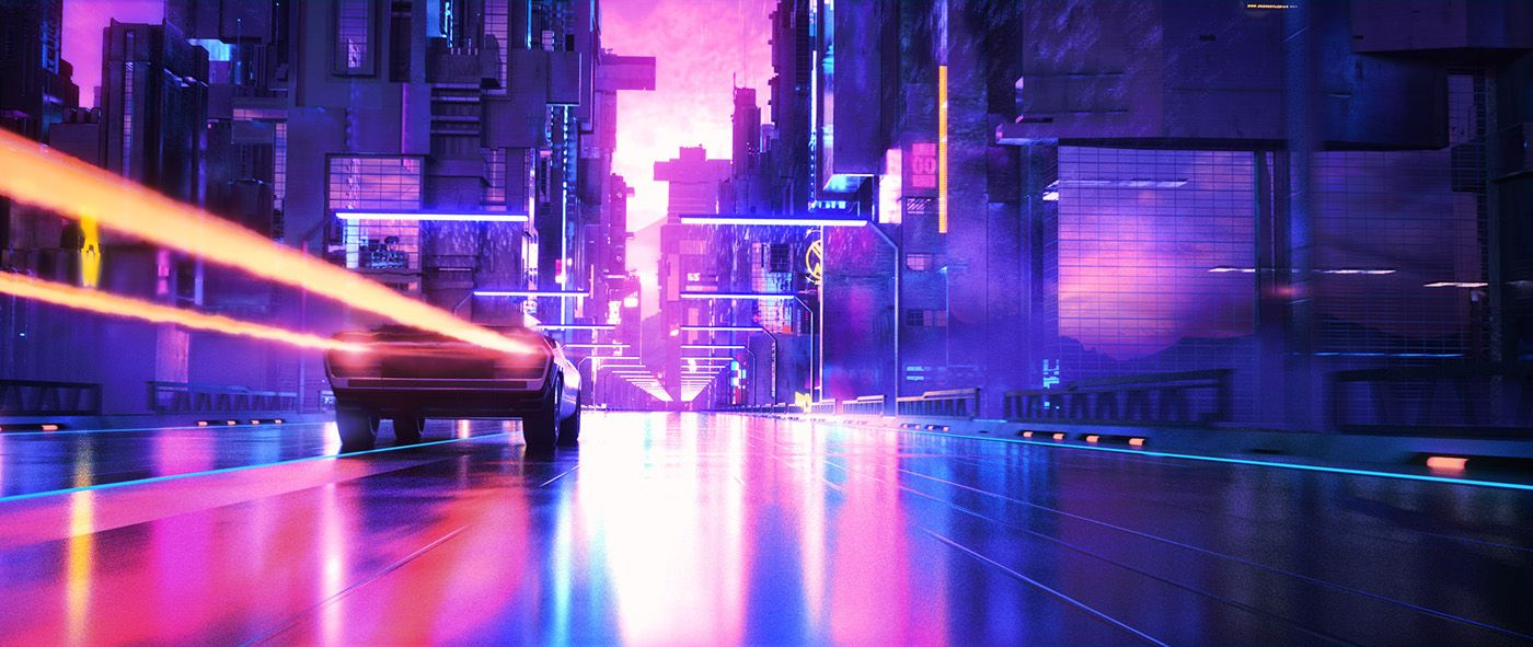 Magnatron 2 0 On Behance With Images Retro Waves