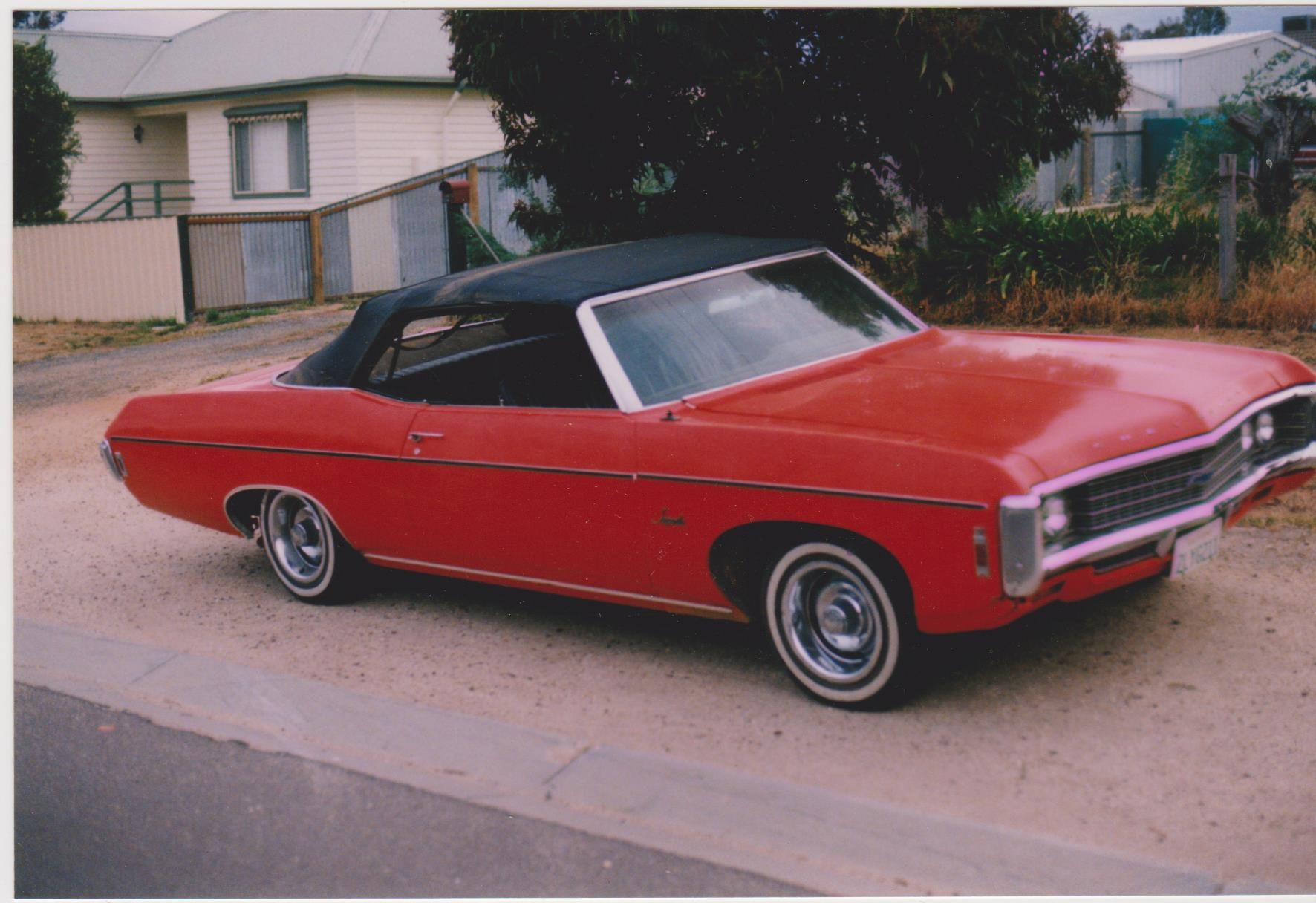 1969 Chev Impala Convertible LHD import late 1970s.