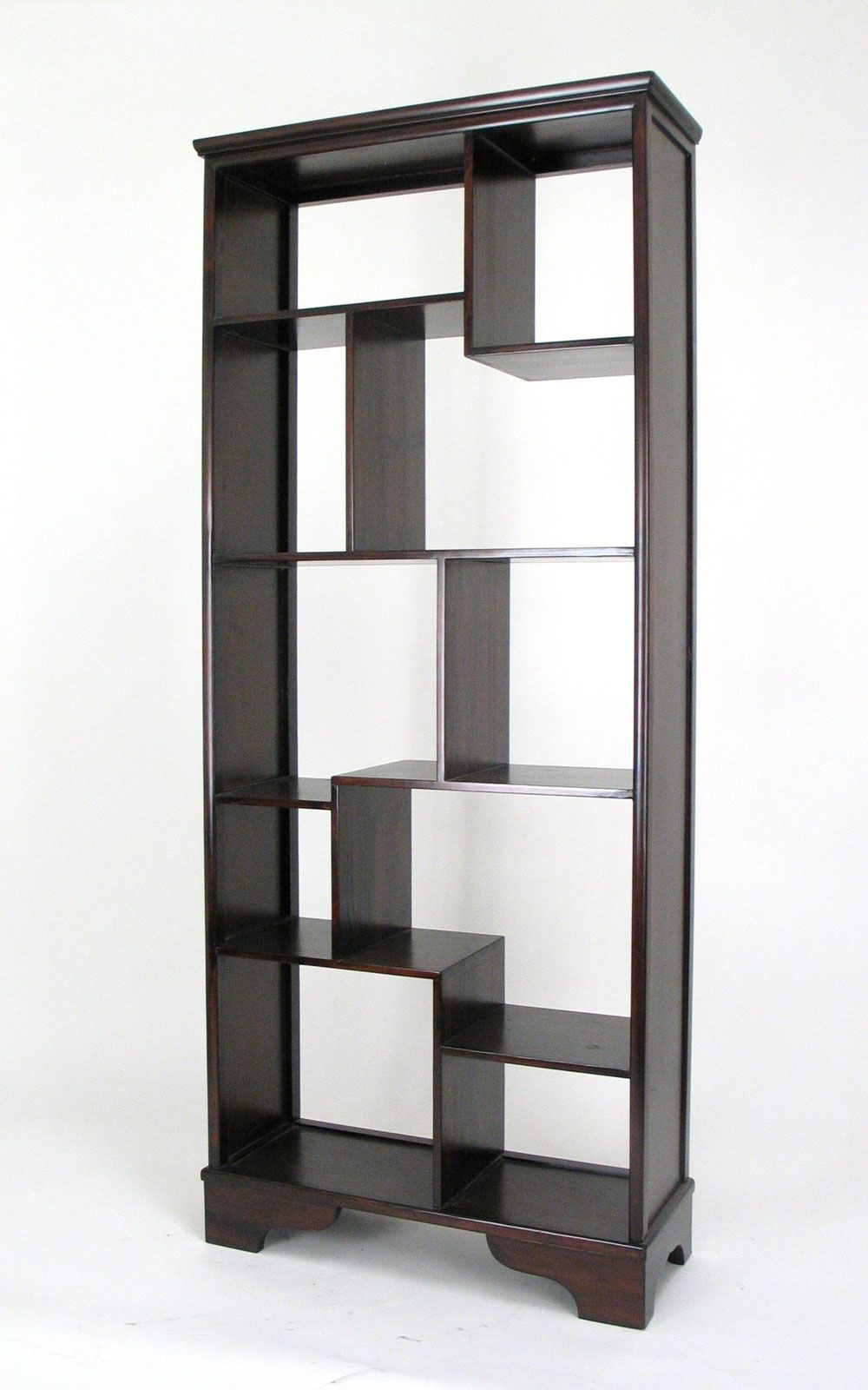Vertical Asian Storage Shelves by Wayborn