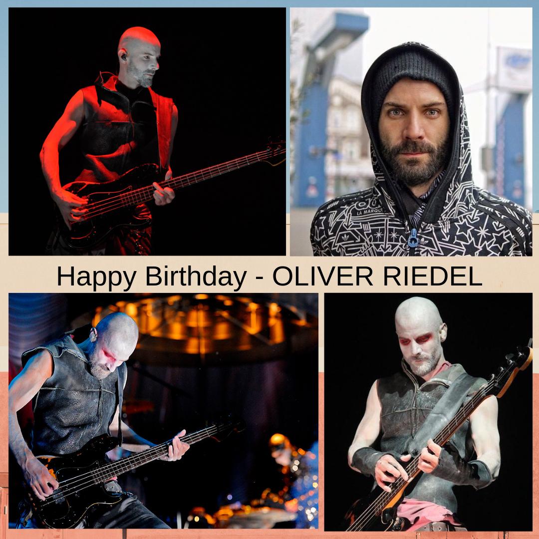 HAPPY BIRTHDAY - OLIVER RIEDEL 1971, Born - Oliver