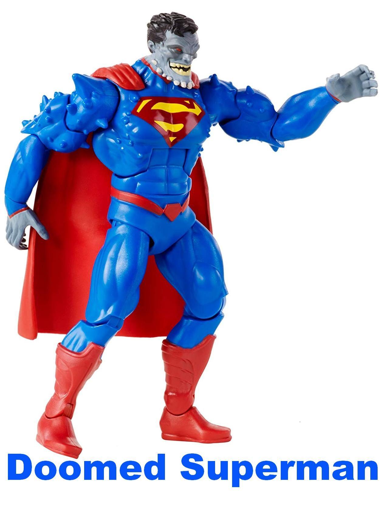 Dc Doomed Superman Action Figure By Mattel Dc Comics Multiverse