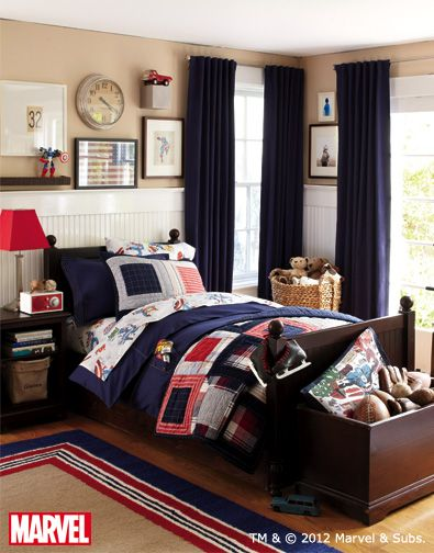 Captain america room decorations google search nathan for Captain america bedroom ideas