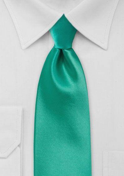 Krawatte Poly-Faser monochrom blaugrün . . . . . der Blog für den Gentleman - www.thegentlemanclub.de/blog