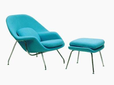 Bild Von Stuhl Design Womb Sessel   Türkis
