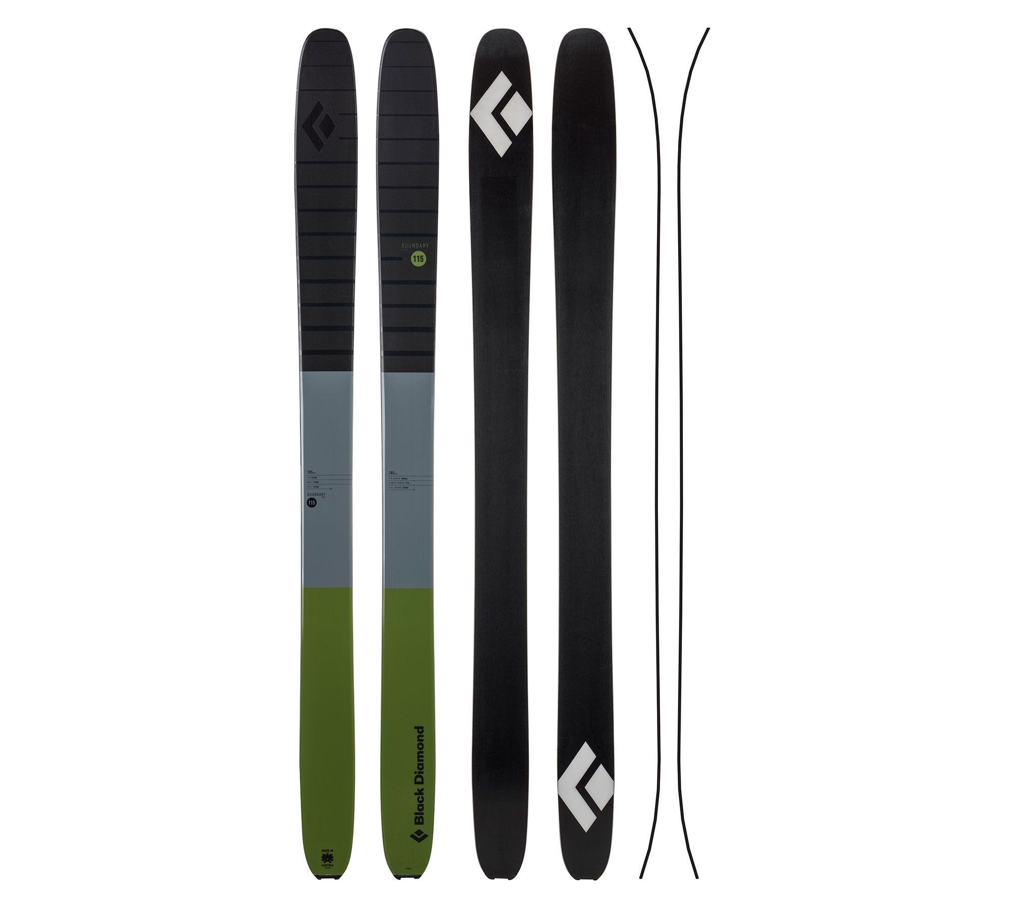 Boundary Pro 115 Ski Black Diamond Gear Skiing Black Diamond Equipment Black Diamond