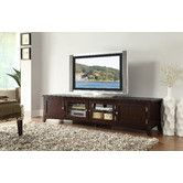 """Found it at Wayfair - Ritz 84"""" TV Stand (only 20"""" H)"""