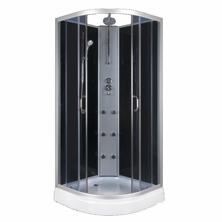 duschtempel fertigdusche duschkabine echt glas eck komplett dusche - Komplettdusche Obi