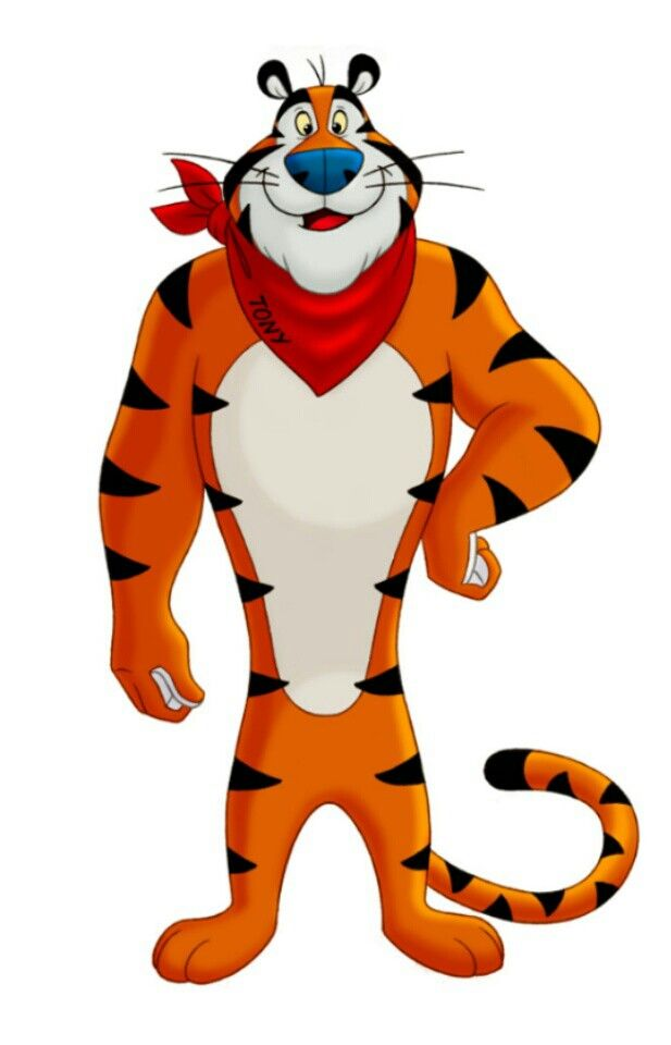 Pin By Shirley Evans On Tony The Tiger Mascot Design Brand