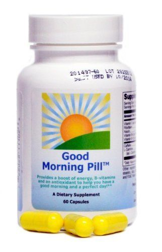 The Good Morning Pill   Energy Vitamin Supplement to