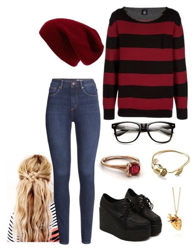 """""""Rikki"""" by shaybot12 ❤ liked on Polyvore featuring Perfection Beauty, Sole Society, H&M, StrangeFruit and Monserat De Lucca"""