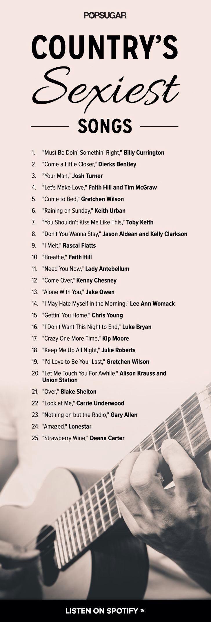 Sexy song names