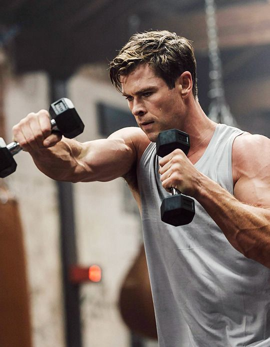 fate wills it so Chris hemsworth workout, Chris
