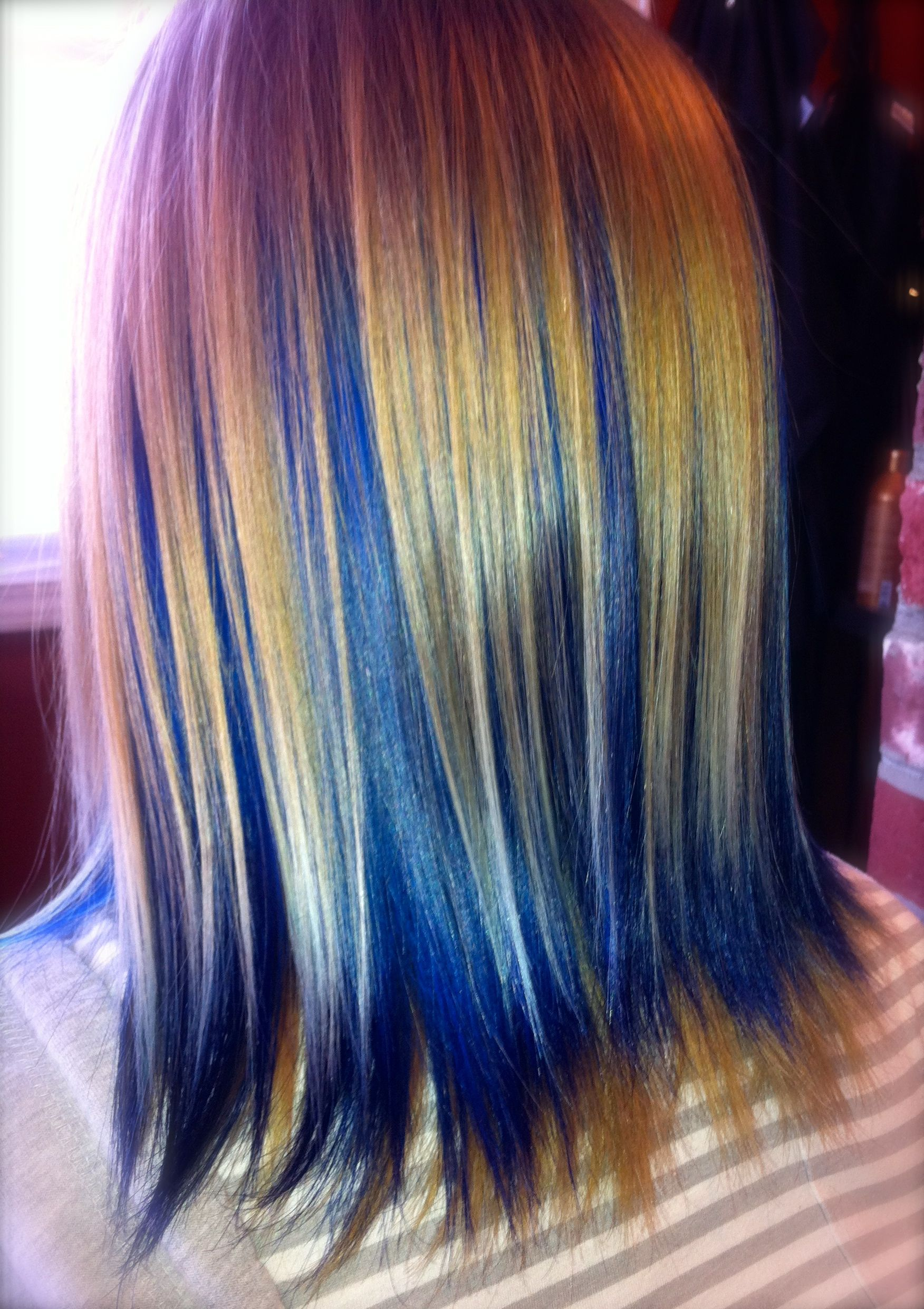 Imagine black for the blonde and red for the blue thatus my next