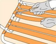 How To Repair Chair Straps And Webbing Hunker Chair Repair Patio Chairs Makeover Outdoor Wicker Furniture