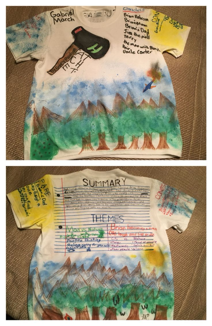 Hatchet t shirt book report fourthgradefriends pinterest hatchet t shirt book report fandeluxe Image collections