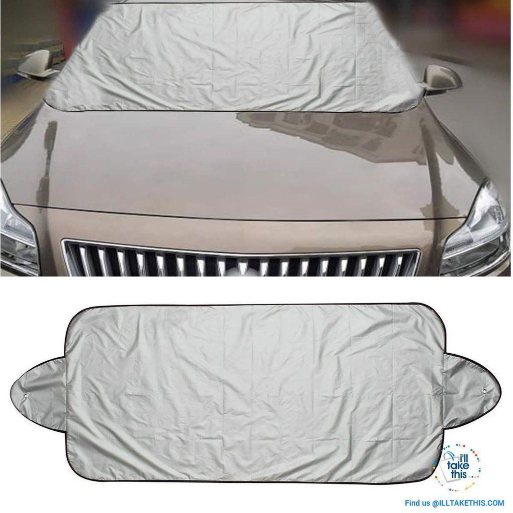 HOT Foldable Car Auto Sun Shade Windshield Sun Visor Cover Anti-UV Protector PAD