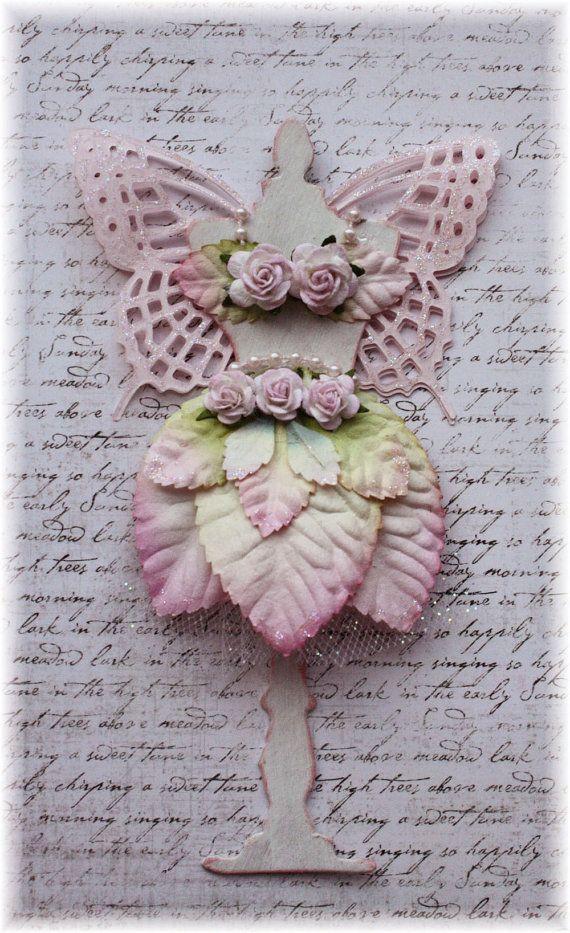 Angelica - shabby chic fairy dress form