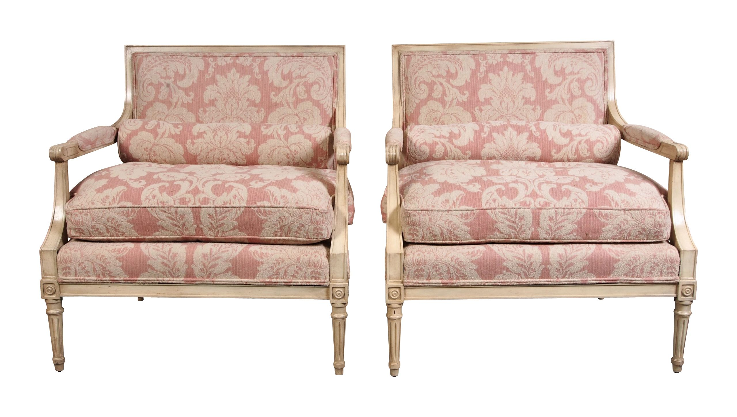 Well made and very fortable French style chairs with Pale