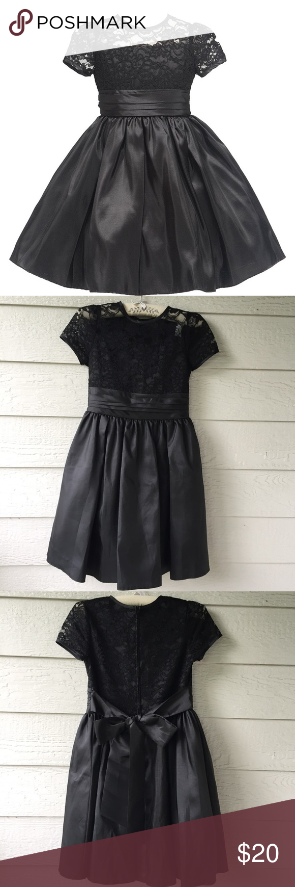 9e9a6f915 Julia Lee Girls Lace Fit and Flare Dress