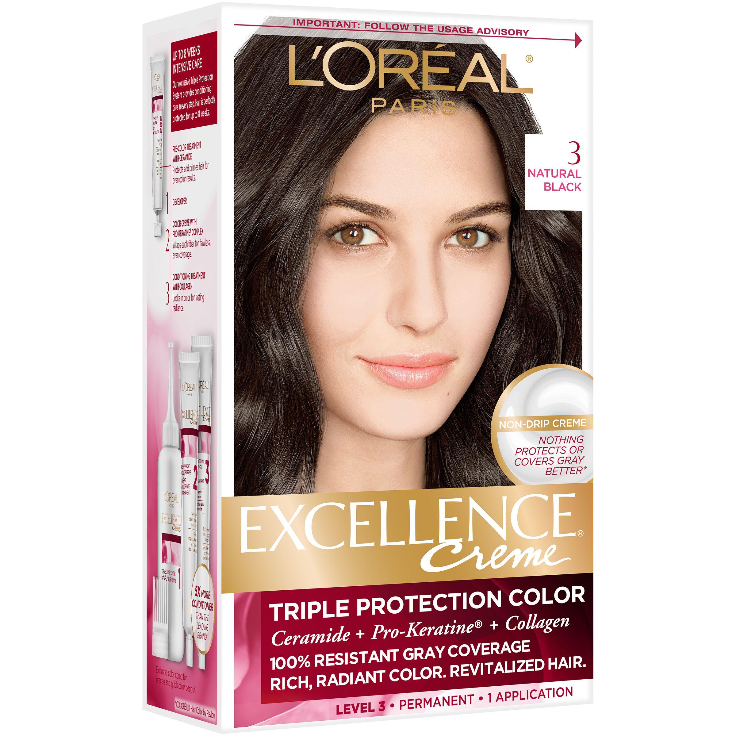 L Or Al Paris Excellence Cr Me Permanent Hair Color Ad