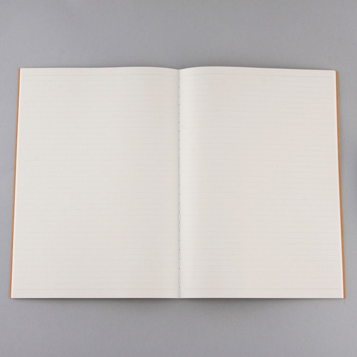 Recycled Paper Bind Notebook A4 Ruled Beige
