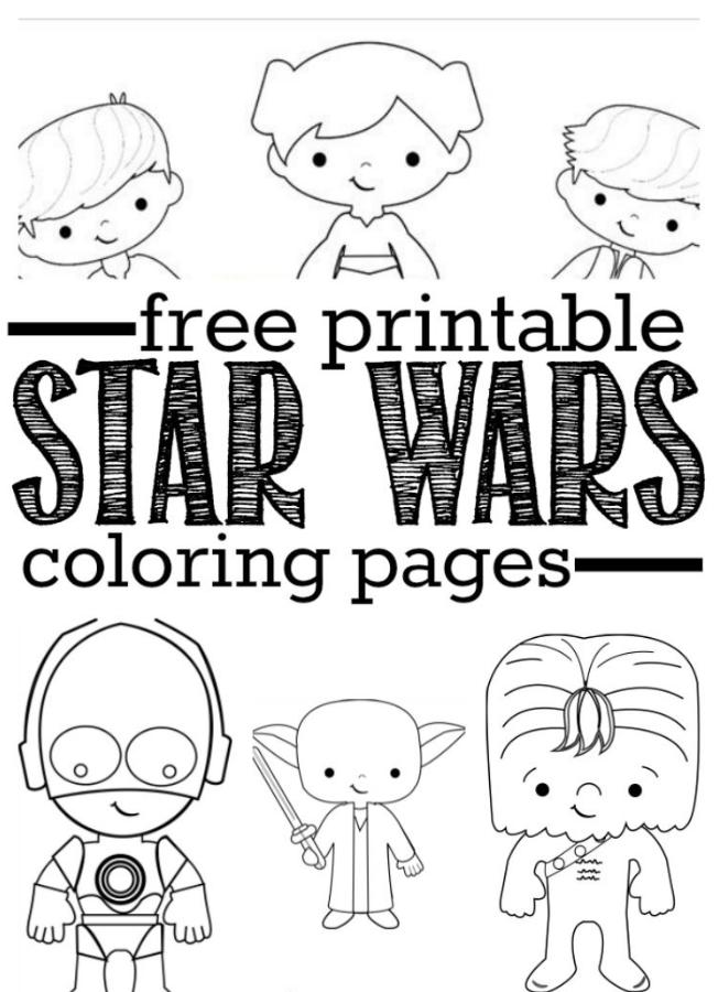 Star Wars Coloring In 2020 Star Wars Coloring Sheet Star Wars Colors Star Wars Kids