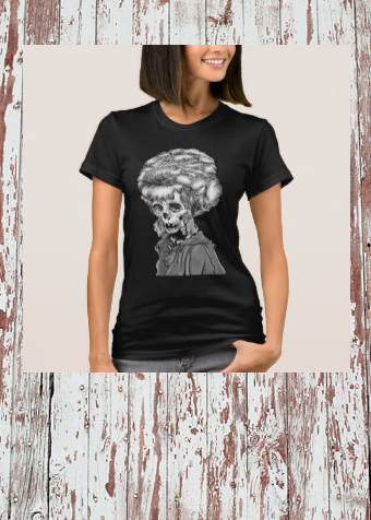 Bone Face Beehive TeeShirt T-Shirt