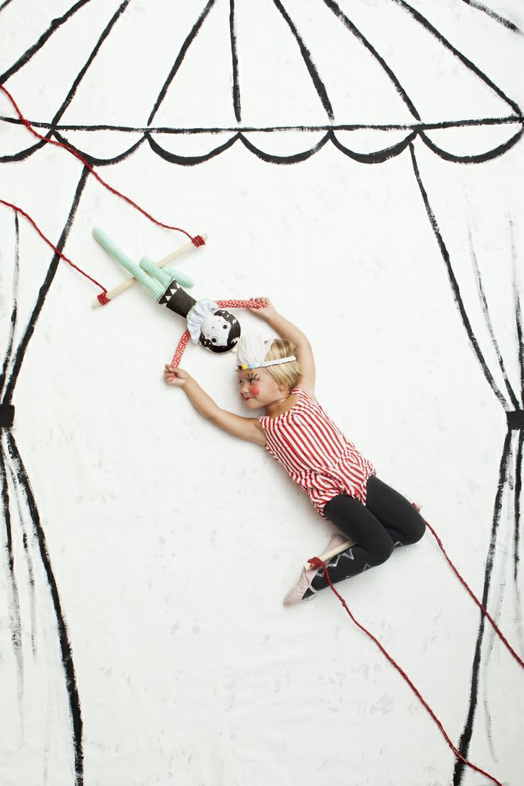 Trapeze Doll from Mer Mag