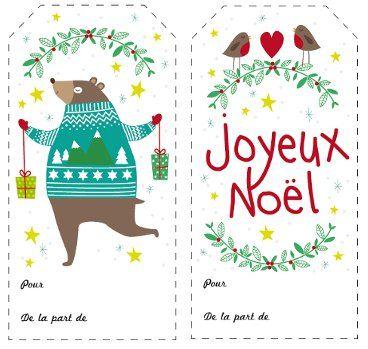 Image etiquettes no l pauline courtois freebie pinterest etiquettes noel pauline et no l - Etiquette de noel a imprimer ...